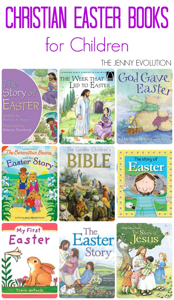 Christian Easter Books for Children