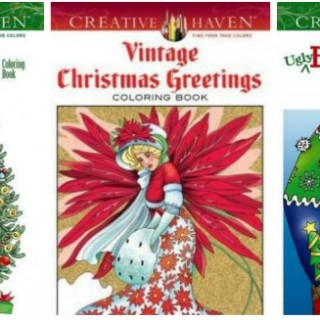 25 Adult Christmas Coloring Books