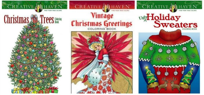25 Adult Christmas Coloring Books Mommy Evolution