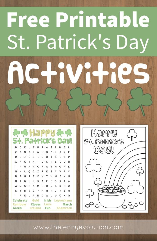 Free Printable St Patricks Day Word Search