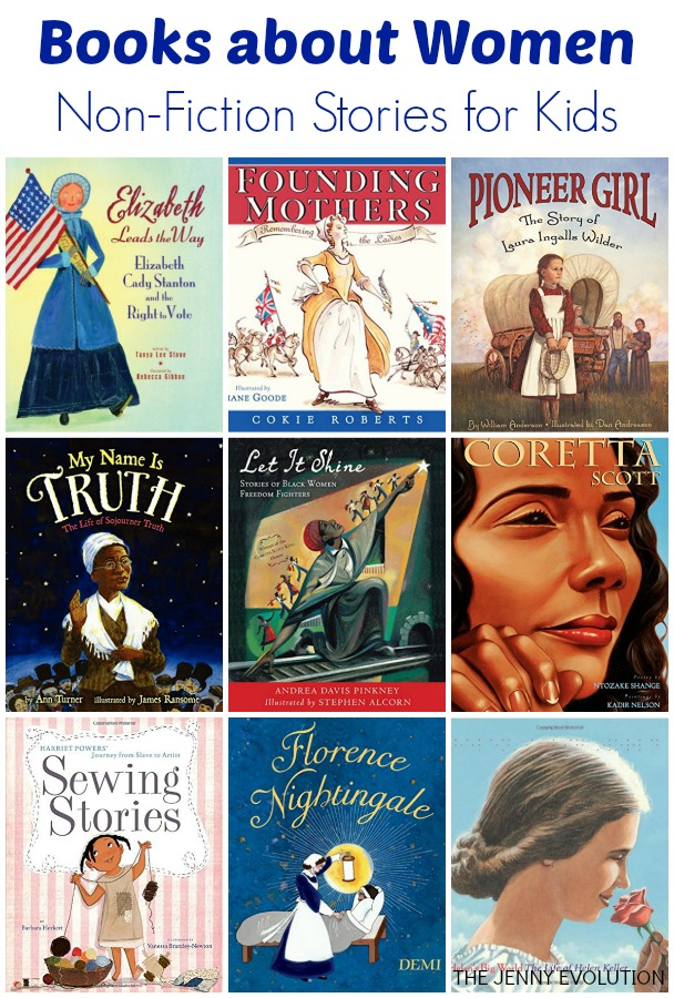 books about women- non-fiction stories for kids