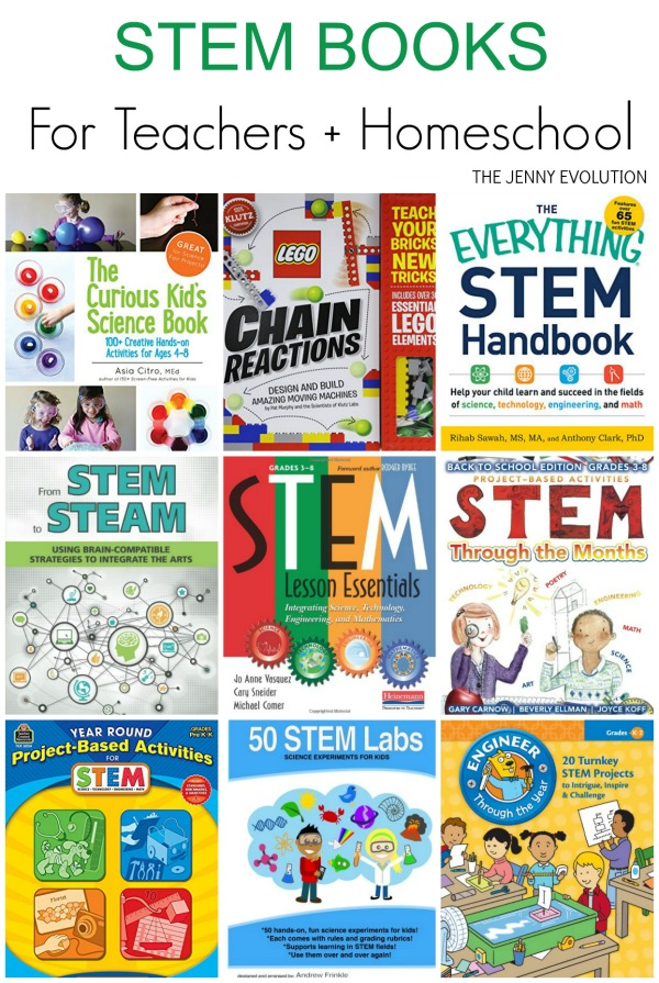 STEM Books for Teachers and Homeschool