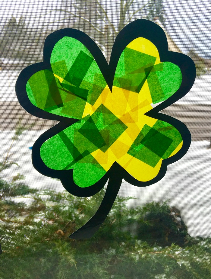 Stained Glass Clover Final