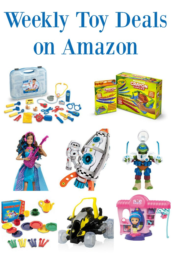 Weekly Toy Deals on Amazon
