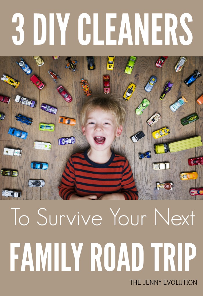 3 DIY Car Cleaners to Survive Your Next Family Road Trip