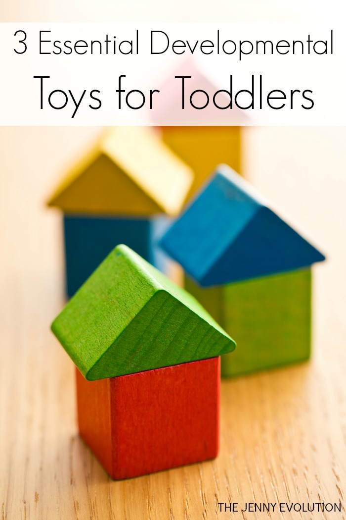 3 Essential Developmental Toys for Toddlers. Every child should have these!