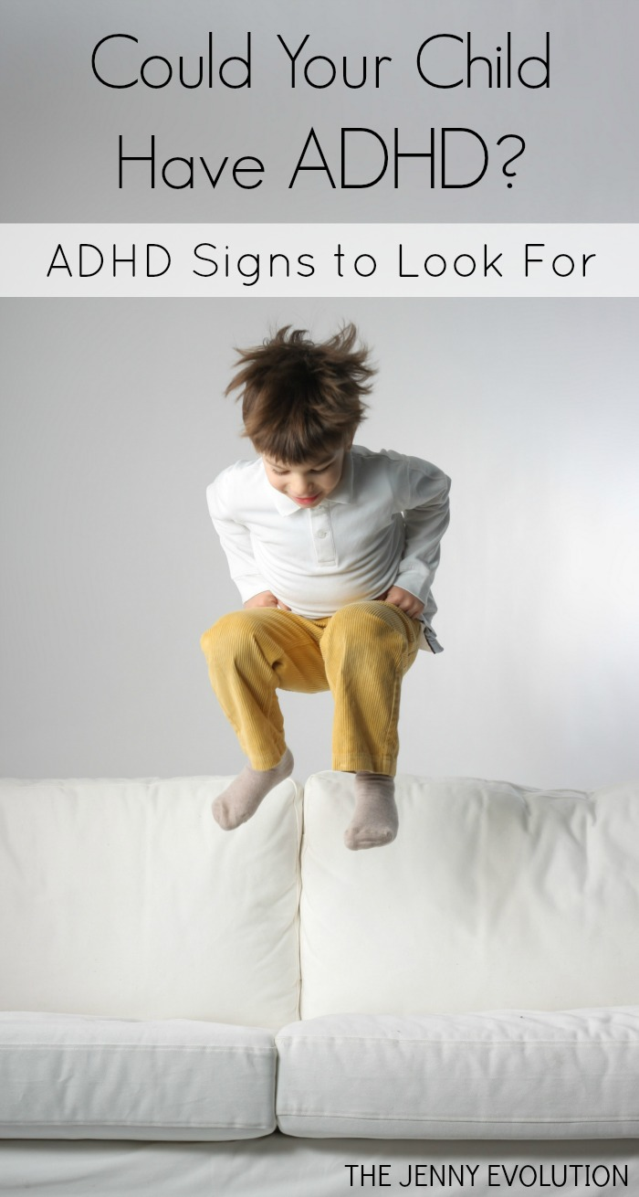 Could your child have ADHD or ADD?