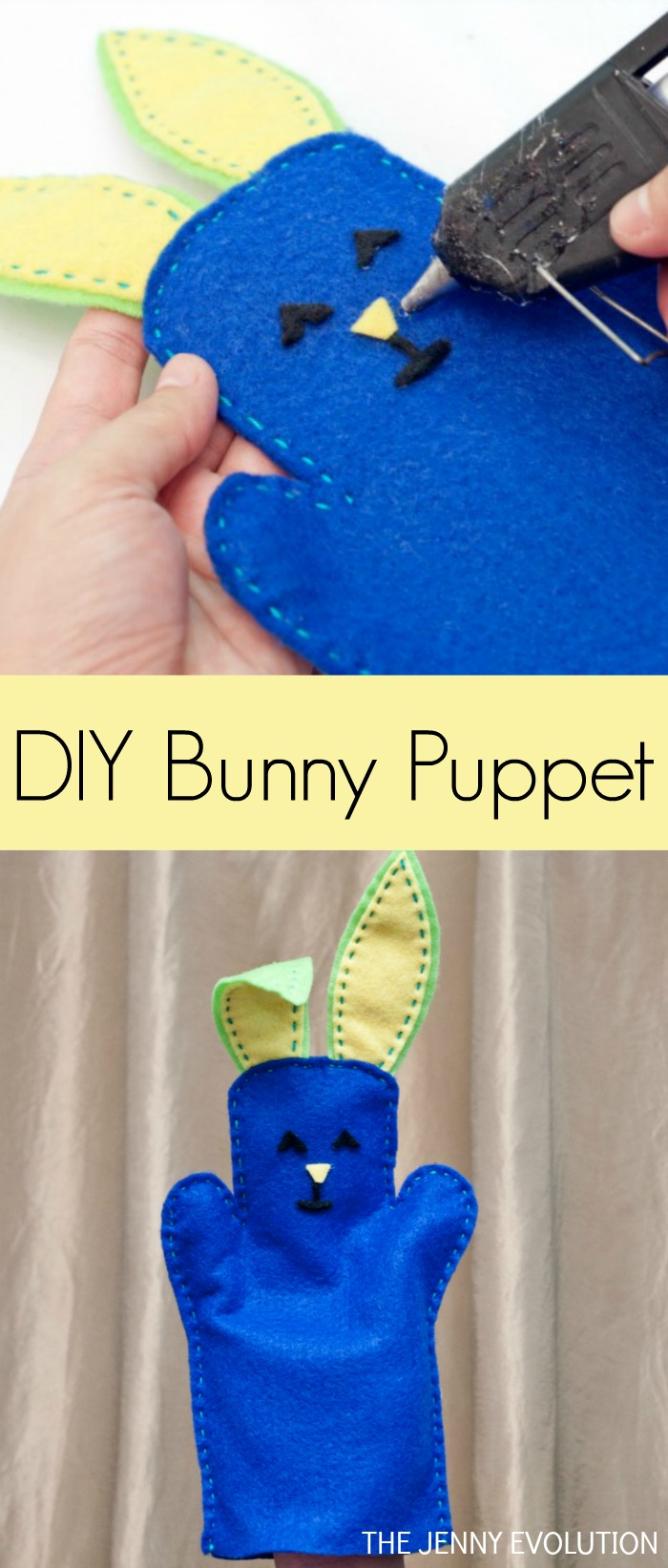 Charming DIY Bunny Puppet