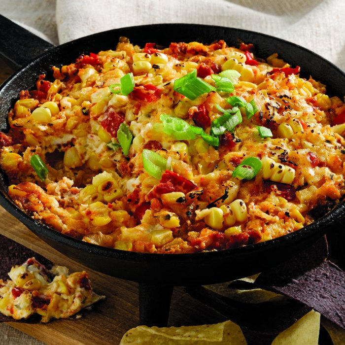 Fire Roasted Corn and Chorizo Dip Recipe