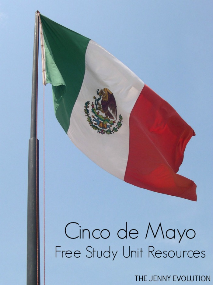 Cinco de Mayo Free Study Unit Resourcs + Books about Mexico for Kids
