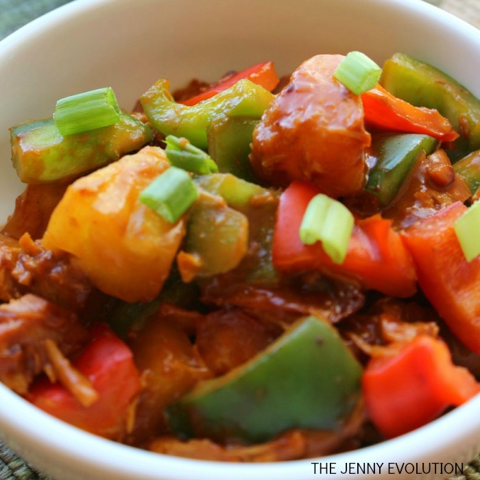 Crockpot Sweet & Sour Chicken Square