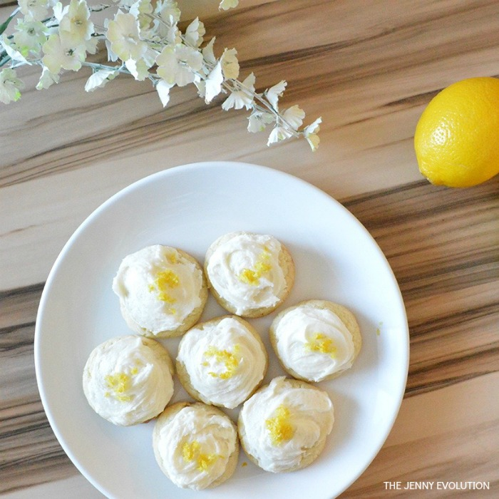Lemon Cookies Recipe Square