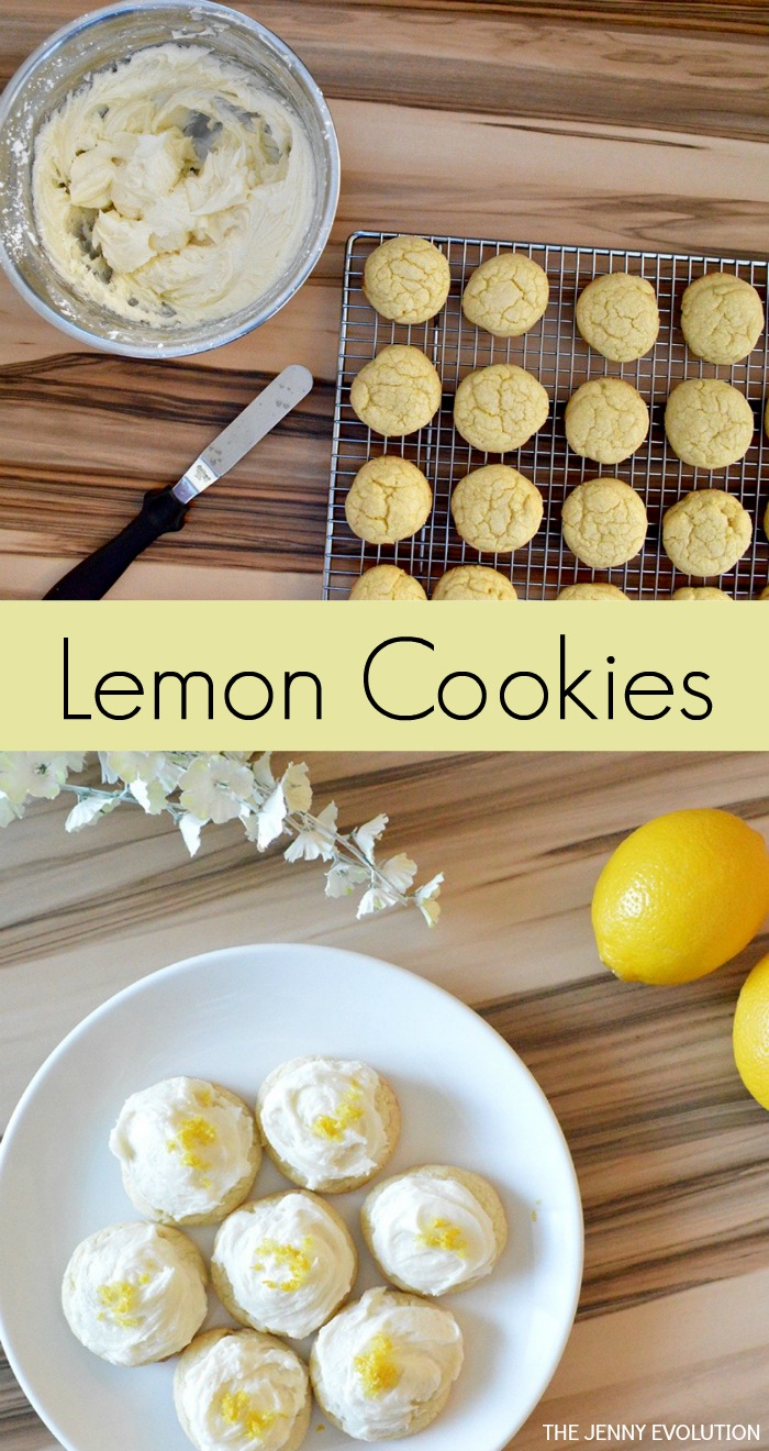 Lemon Cookies Recipe with Buttercream
