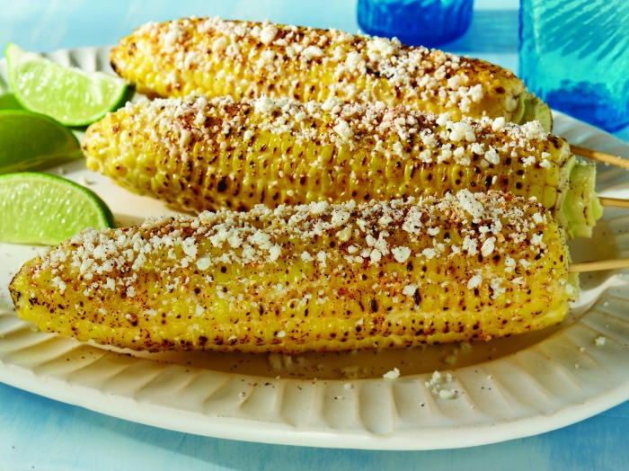 Mexican Style Corn Grilled - perfect for cinco de mayo