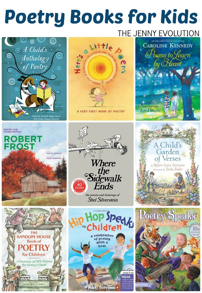 Poetry Books for Children + Poetry Study Unit Resources