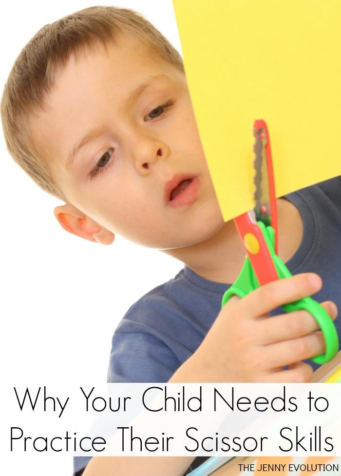 Why Your Child Needs to Practice Their Preschool Scissor Skills | The Jenny Evolution