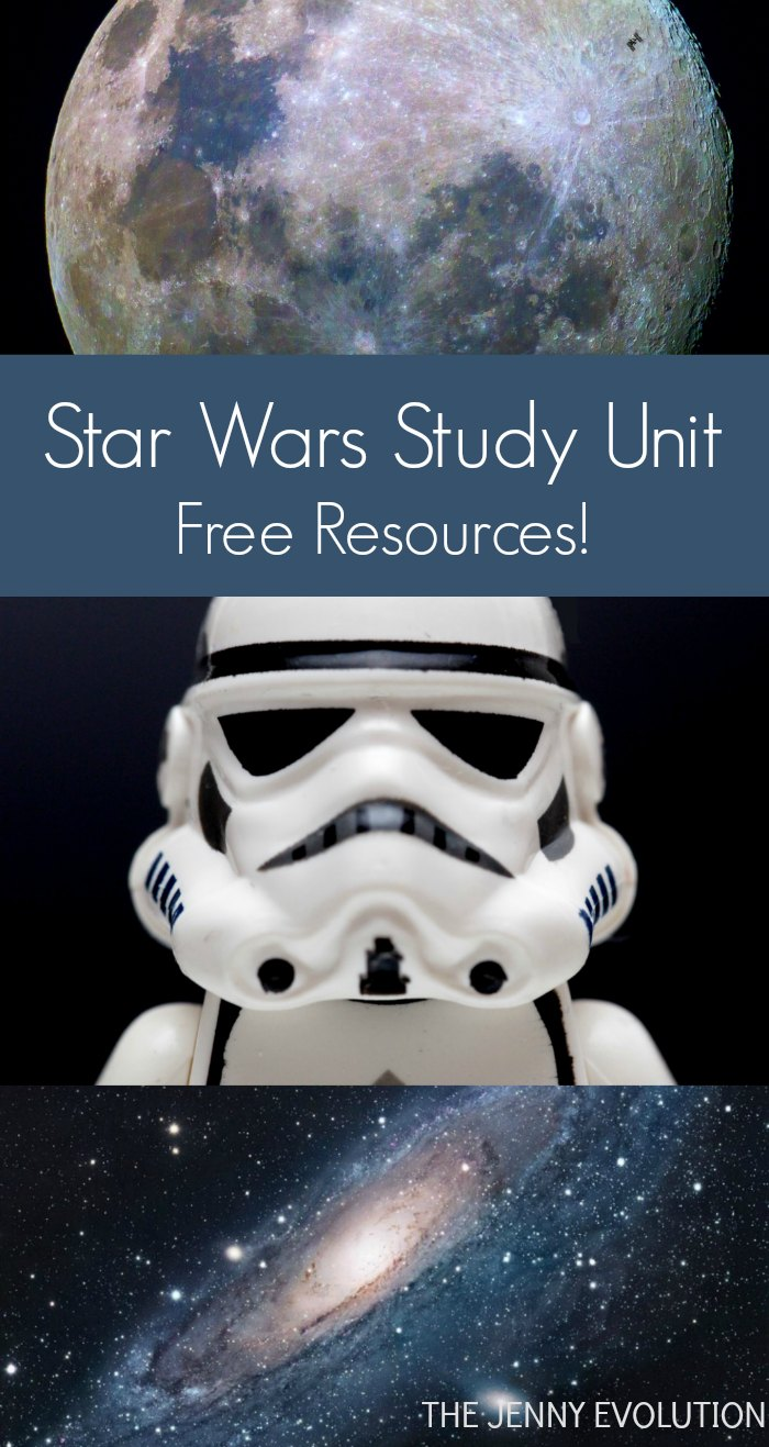 FREE Star Wars Study Unit Resources + Books About Outer Space for Kids