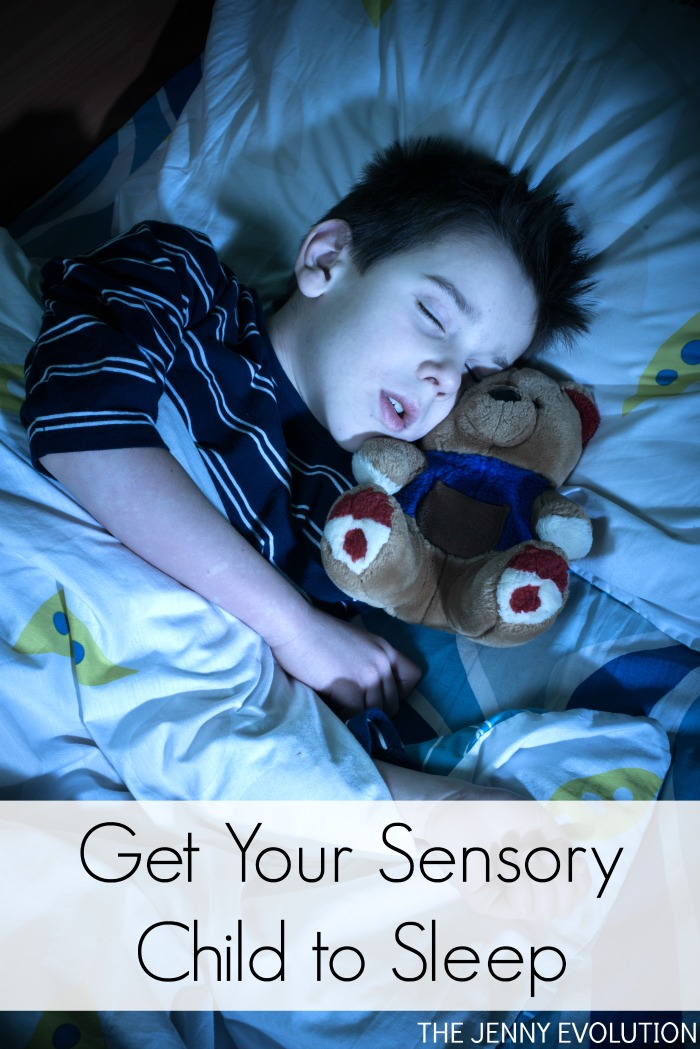 How to Get your Sensory Child to Sleep by The Jenny Evolution