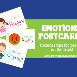Teaching Emotions to Kids: Emotions Postcards