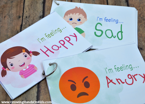 Teaching Emotions: Emotions Postcards Full Set