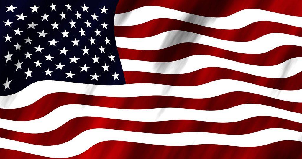 American flag waving - memorial day books
