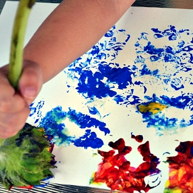 painting with flowers 2
