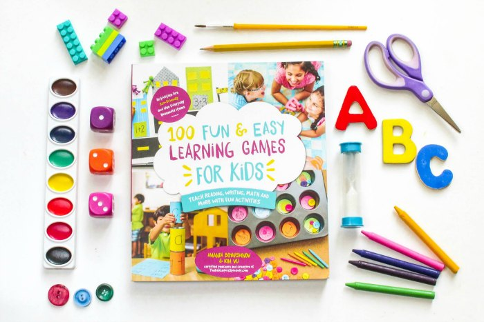 100 Fun and Easy Learning Games Promotion with supplies FB