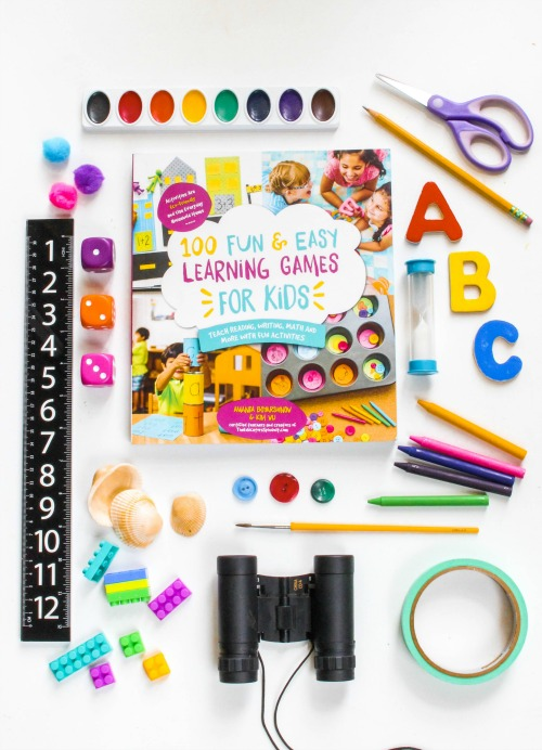 100 FUN & EASY LEARNING GAMES FOR KIDS: TEACH READING, WRITING, MATH AND MORE WITH FUN ACTIVITIES
