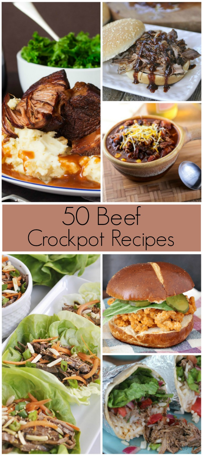 50 Slow Cooker Recipes - Perfect for your crockpot!