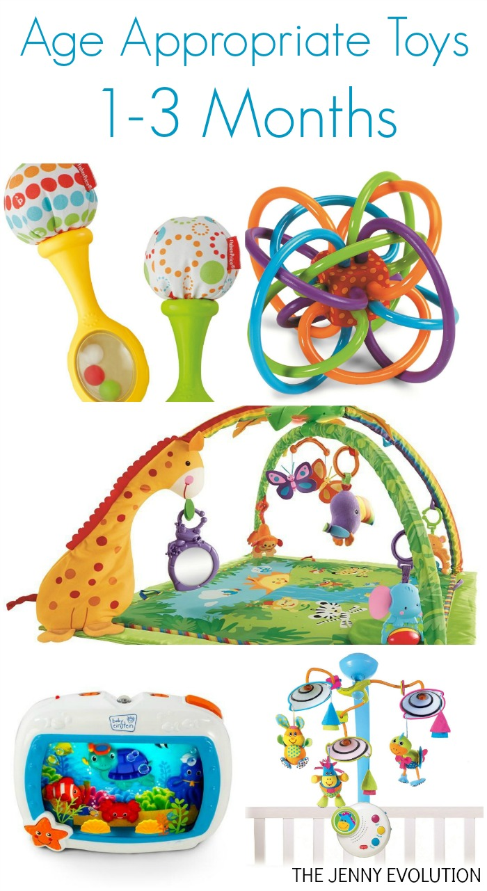 Baby Toys Age 1 : Development and age appropriate toys for infants
