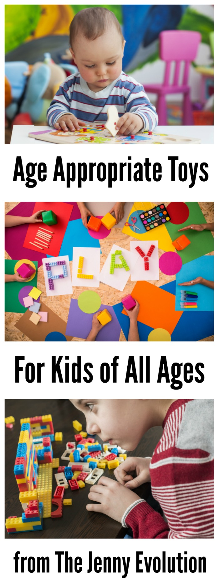 Age Appropriate Toys for All Ages