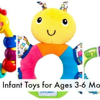 Development & Best Infant Toys for Ages 3-6 Months