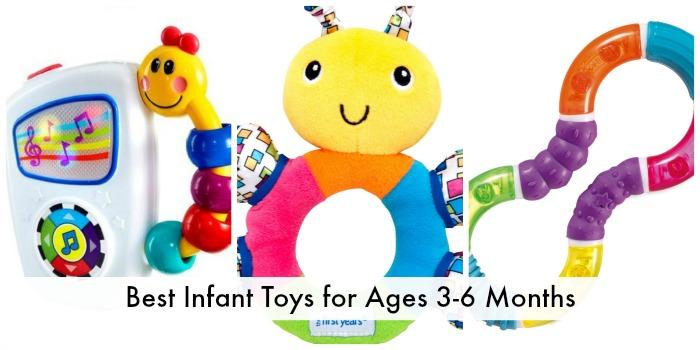 Best Infant Toys 3-6 months