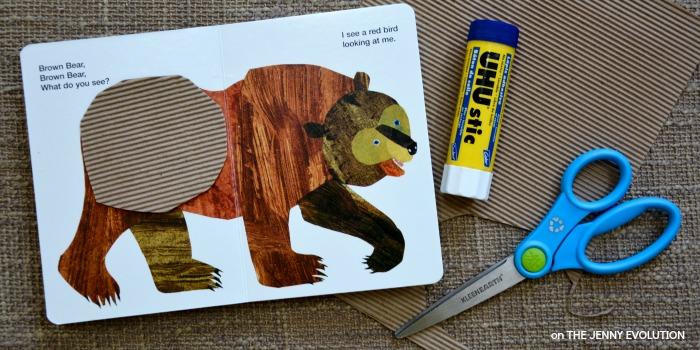 Brown Bear Sensory Book 1