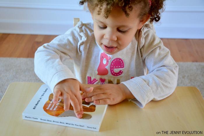 Creating DIY Brown Bear Sensory Book