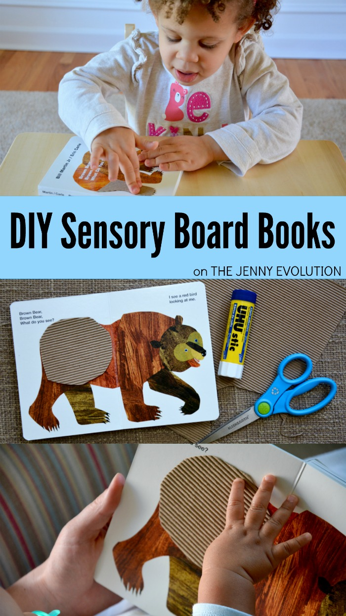 DIY Sensory Board Book - Fun Craft Activity for Kids and Tactile Sensory Experience