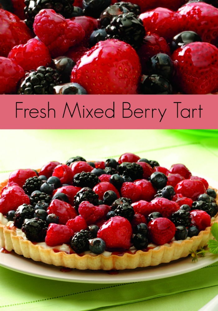 Mind you, I didn't grow up on any kind of mixed berry tart recipe. I ...