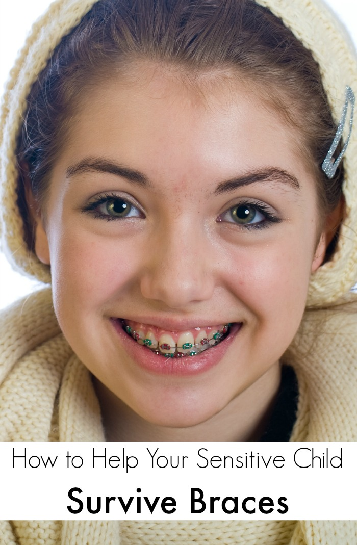 How to Help Your Sensitive Child Survive Braces | Mommy Evolution