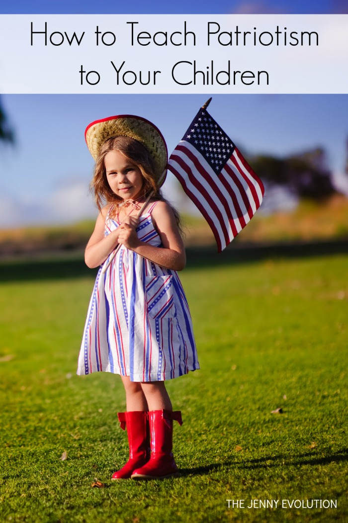 How to teach patriotism to your children - 10 tips