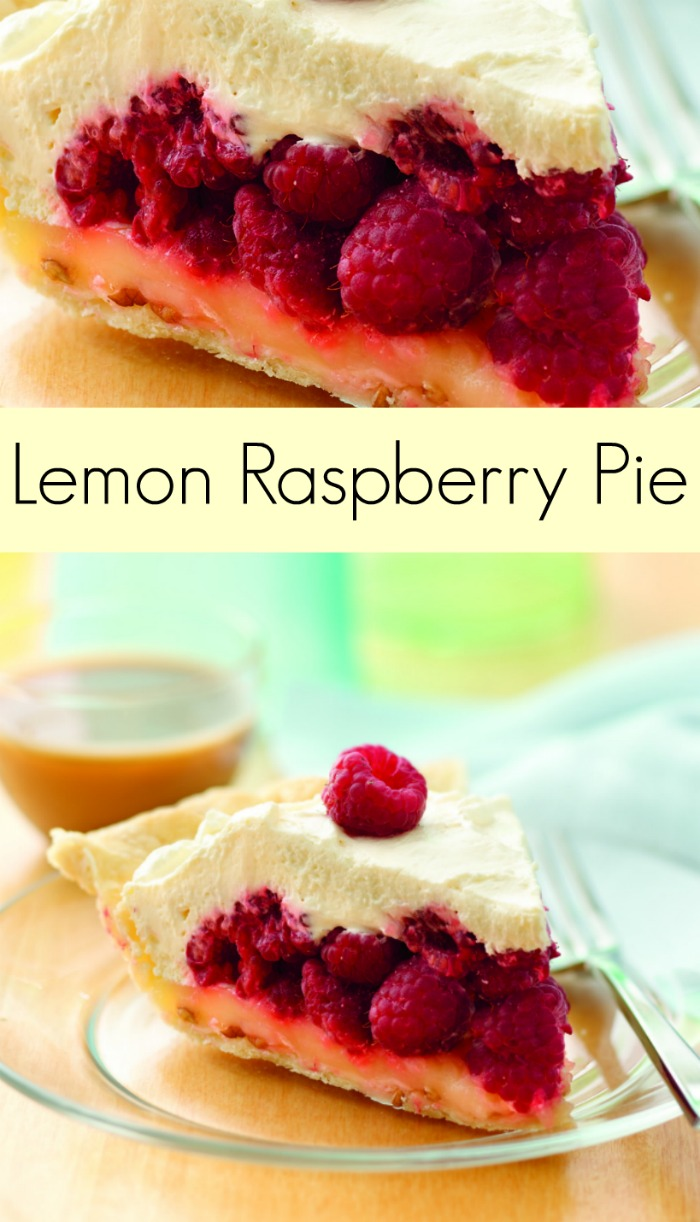 Sweet and tart, this Lemon Raspberry Pie recipe is going to be the ...