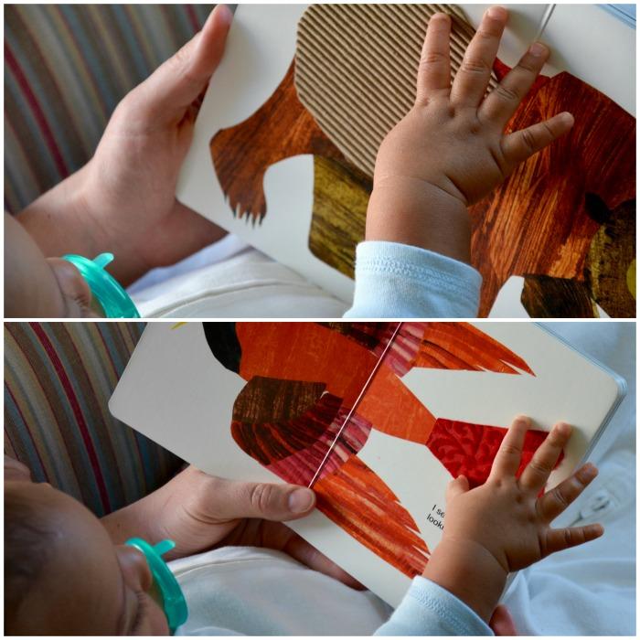 Making the DIY Brown Bear Sensory Book