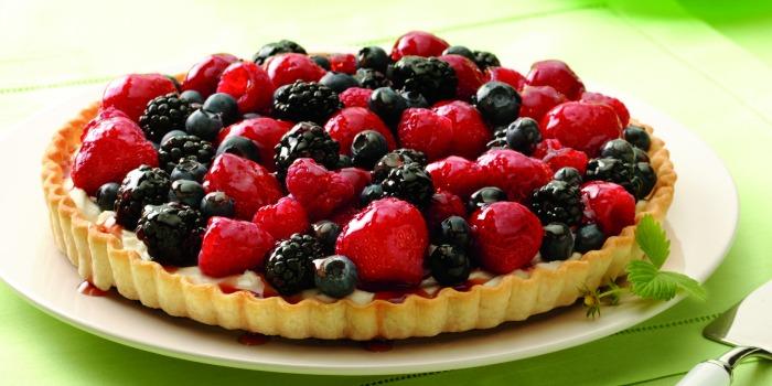 Mixed Berry Tart FB