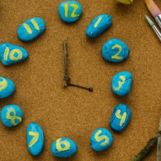 Learning to Tell Time with a Rock Clock Mystery