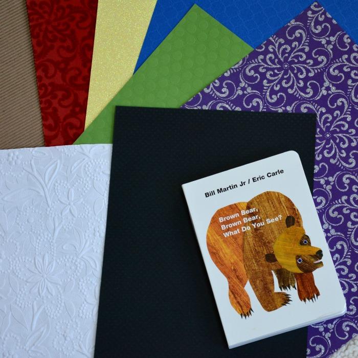 Sensory Board Book Materials