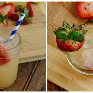 Strawberry Lemonade Recipe (Strawberry Study Unit)