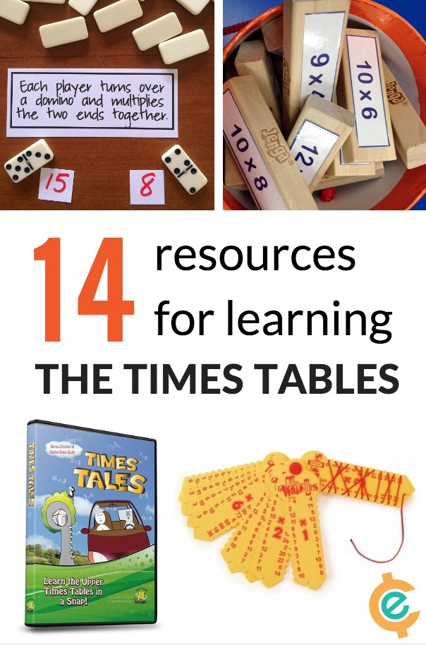 14 Resources to Learn Times Tables