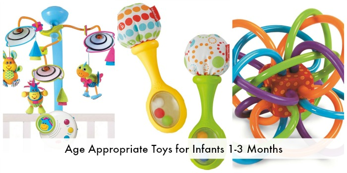 Development And Age Appropriate Toys For Infants 1 3 Months Mommy