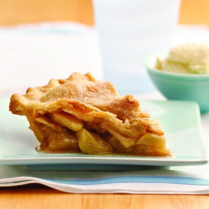 easy apple pie square
