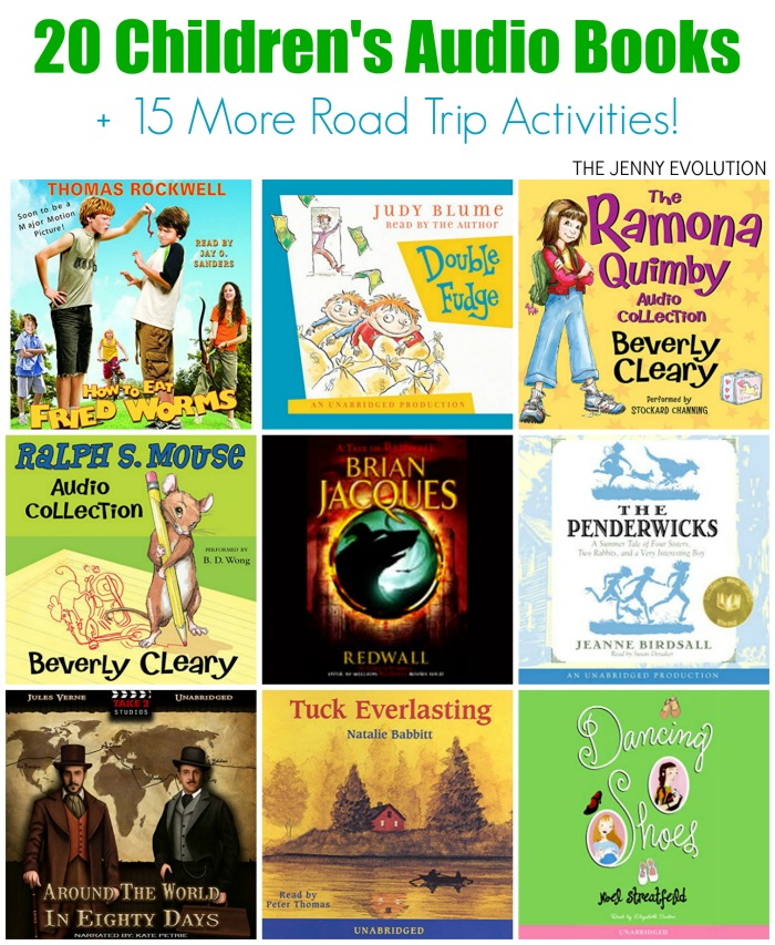 20 Captivating Children Audio Books for Road Trips