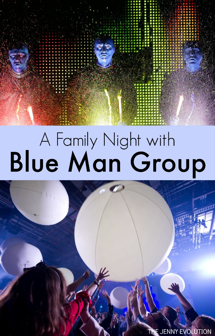 A Family Night with Blue Man Group - Blue Man Group Review